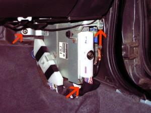 Nissan 240SX S14 Remove ECM (ECU)