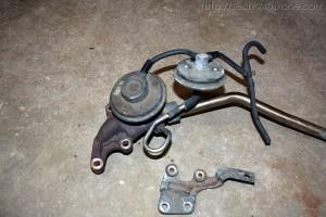 240SX KA24DE Exhaust Gas Recirculation (EGR) Equipment