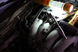 How to remove the Exhaust Gass Recirculation (EGR) Vavle from a 240SX KA24DE