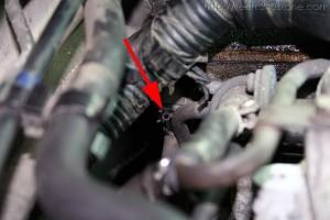 240SX KA24DE EGR/EVAP control cylinder vacuum port
