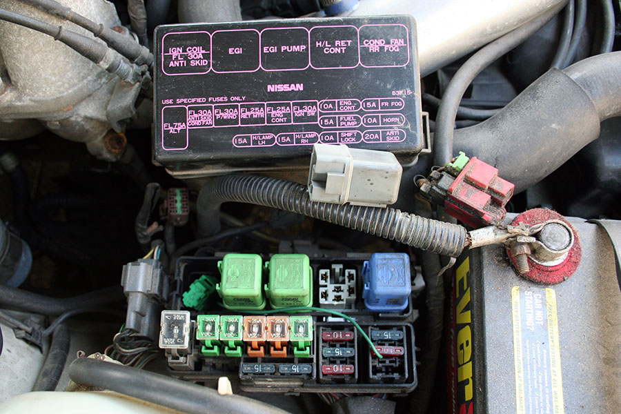 1990 nissan 240sx fuse box cover wiring diagram review 2006 Nissan Altima Main Fuse S14 240sx Fuse Box Cover #14